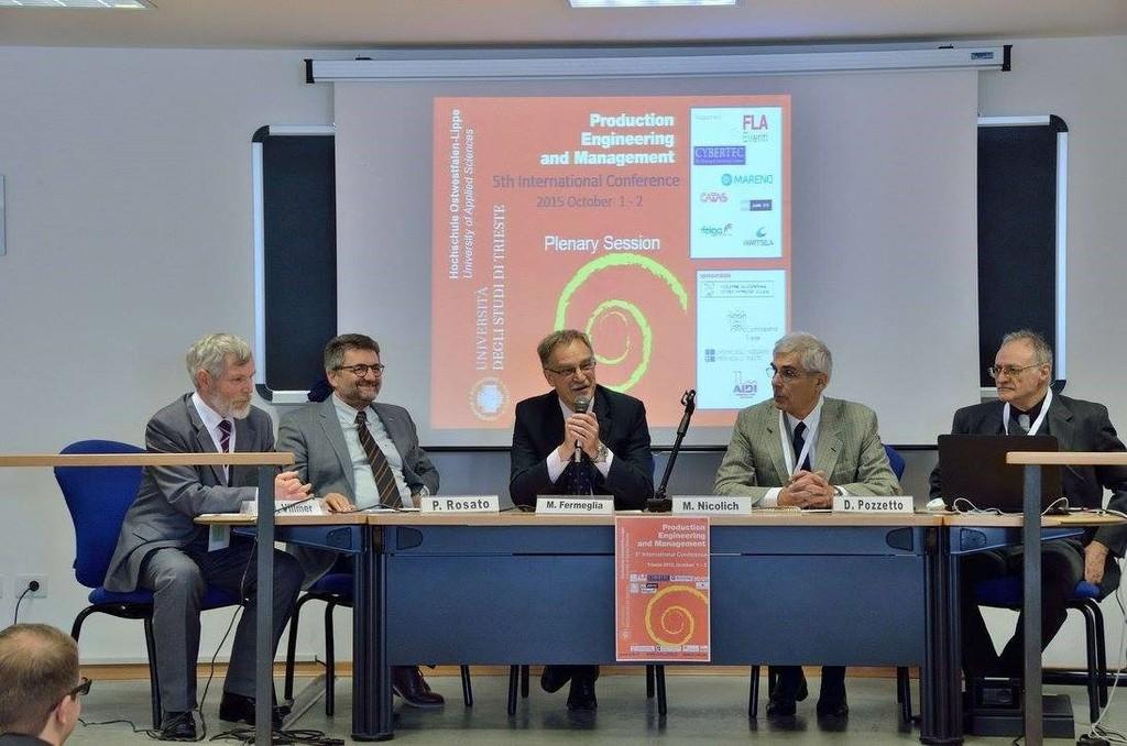 Convegno internazionale PEM 2015 a Trieste