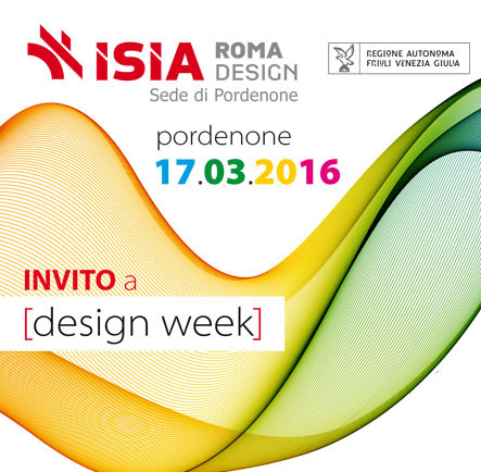 Pordenone Design Week: Open Day 17/03/2016