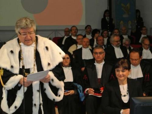 Inaugurazione dell'anno accademico 2015/2016 dell'Università di Udine