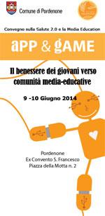 Convegno: App & Game – Il benessere dei giovani verso comunità media-educative