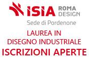 Disegno Industriale: preiscrizioni aperte fino al 15/09