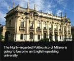 Italian university switches to English
