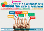 Punto di Incontro 2015: il 5 e 6 novembre a Pordenone Fiere