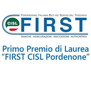 """Consegna premi di Laurea """"FIRST-CISL Pordenone"""""""