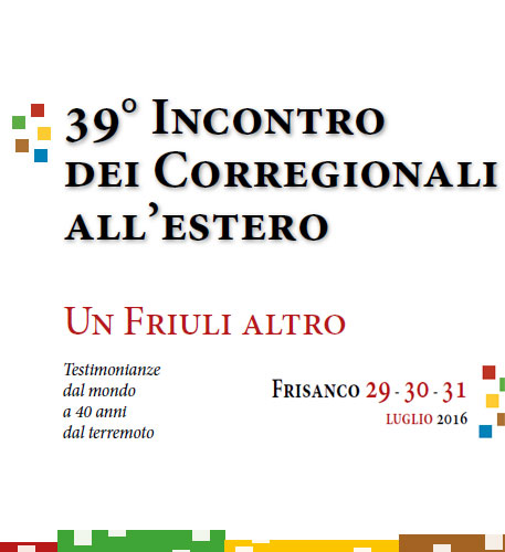 39° Incontro corregionali all'estero