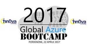 Global Azure Bootcamp Pordenone 2017