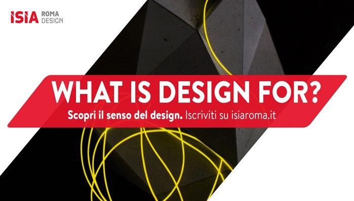 ISIA Design del Prodotto: dal 13/07 posto per 70 nuovi designer