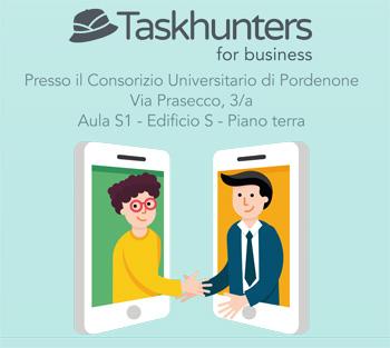Taskhunters: il 14/12 il servizio di offerta lavoro per studenti si presenta al Consorzio Universitario