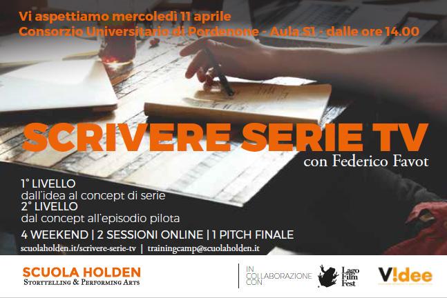Scrivere Serie TV: l'11 aprile al Consorzio Universitario una lezione per trasformare l'idea in progetto
