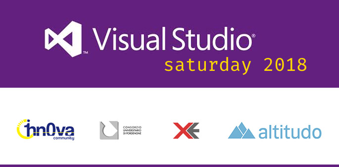 Visual Studio Saturday 2018 all'Università a Pordenone