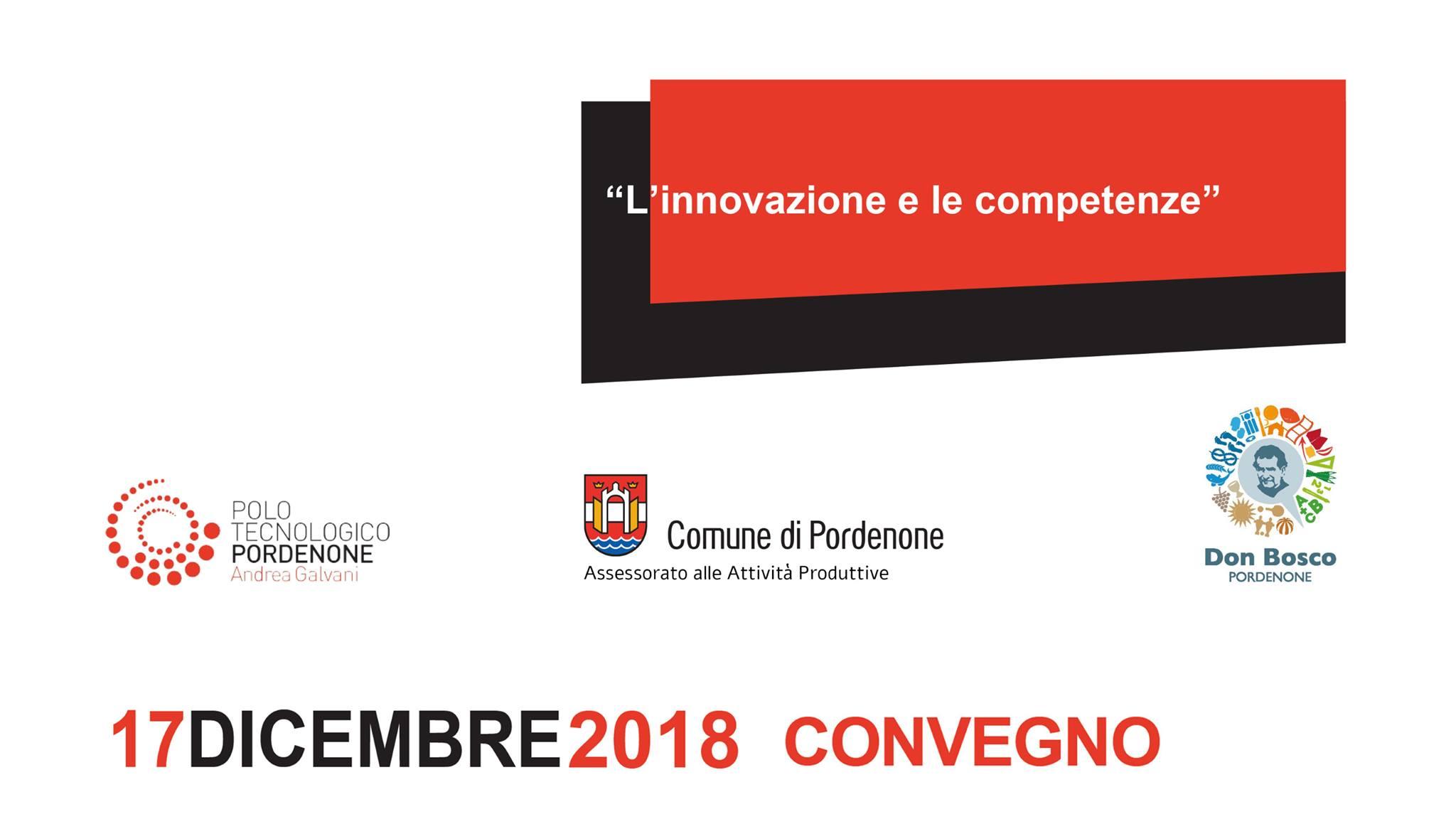 """Convegno """"L'innovazione e le competenze"""" il 17 dicembre al Don Bosco"""