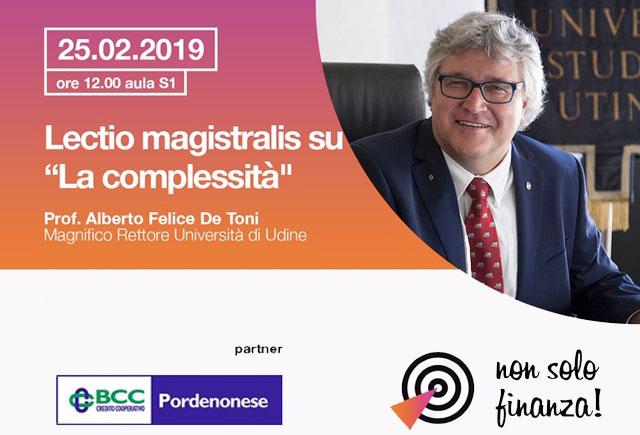 Banca&Finanza: seminari con il Magnifico Rettore De Toni e il Dott. Rapisarda