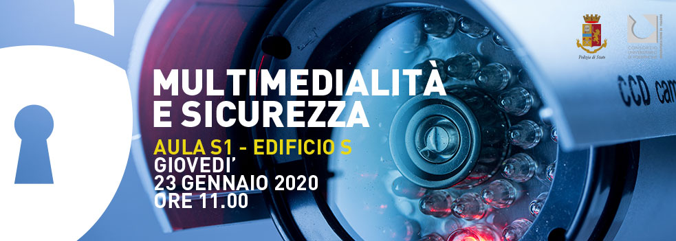 """Convegno """"Multimedialità e Sicurezza"""" il 23/01 con il Prefetto Franco Gabrielli"""