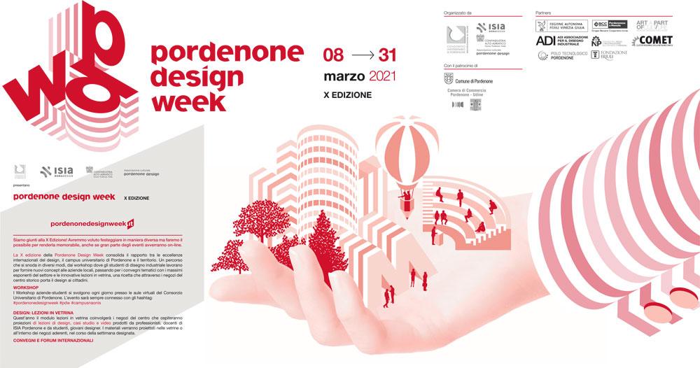 Dal 8 marzo la Pordenone Design Week 2021