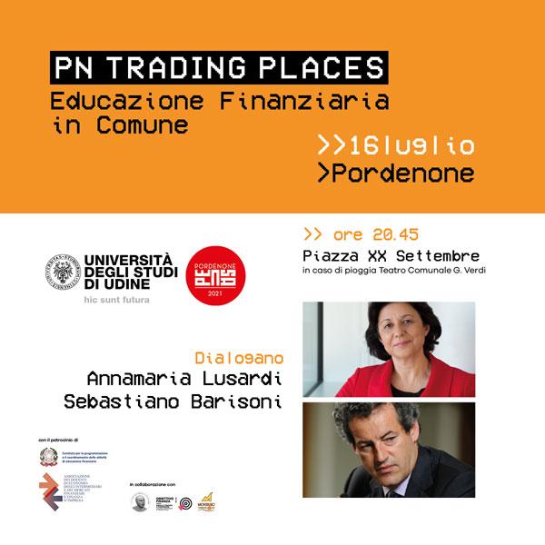 PN Trading Places – Educazione finanziaria in Comune il 16/07